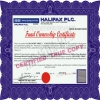 Fund ownership certificate