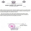 Ghananian high court of justice epistle
