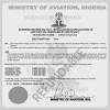 Ministry of aviation supreme decree