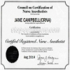 Registered nurse certificate