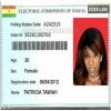 Electoral commission of Ghana voter card