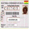 Electoral commission of Ghana certificate