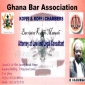 Ghana bar association certificate