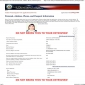 Nonimmigrant visa application