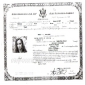 Certificate of US naturalization